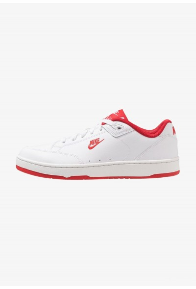 Nike GRANDSTAND II - Baskets basses white/university red