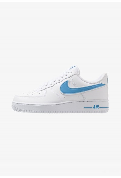 Nike AIR FORCE 1 '07 - Baskets basses white/university blue
