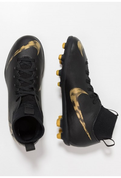 Nike CLUB MG - Chaussures de foot à crampons black/metallic vivid gold