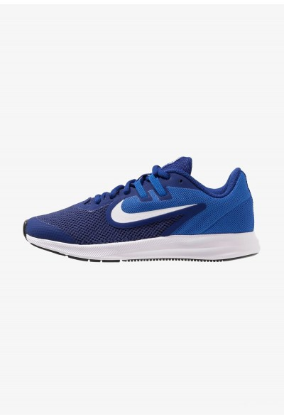Nike DOWNSHIFTER 9 - Chaussures de running neutres deep royal blue/white/game royal/black