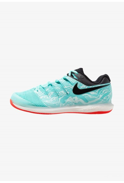 Nike AIR ZOOM VAPOR X HC - Baskets tout terrain aurora green/black/teal tint/phantom/bright crimson
