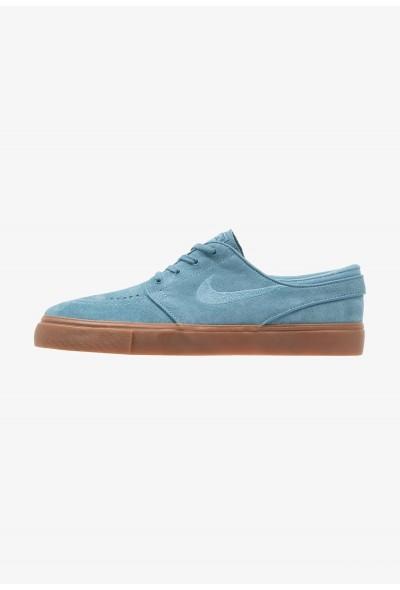 Nike ZOOM STEFAN JANOSKI - Baskets basses noise aqua/thunder blue/dark brown/medium brown/light brown