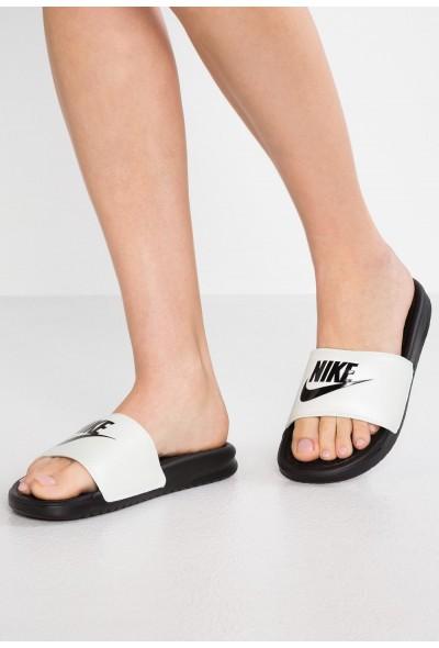 Nike BENASSI JUST DO IT - Mules spruce aura/black