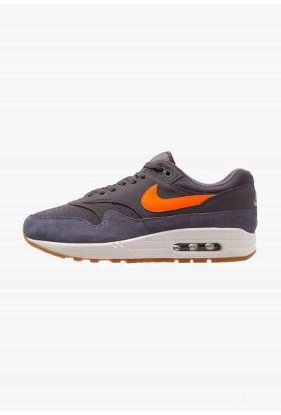 Nike AIR MAX 1 - Baskets basses thunder grey/total orange/light carbon/white/medium brown