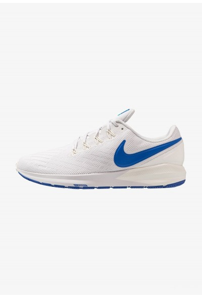 Nike AIR ZOOM STRUCTURE  - Chaussures de running stables vast grey/game royal/sail/blue lagoon