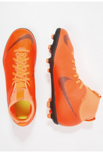 Nike CLUB MG - Chaussures de foot à crampons total orange/white/volt/black