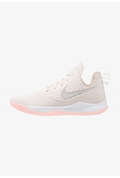 Nike LEBRON WITNESS III - Chaussures de basket light orewood brown/white/desert sand/medium soft pink