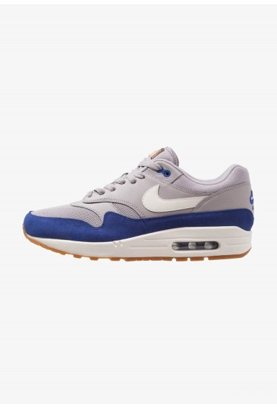 Nike AIR MAX 1 - Baskets basses atmosphere grey/deep royal blue/sail/medium brown/vachetta tan