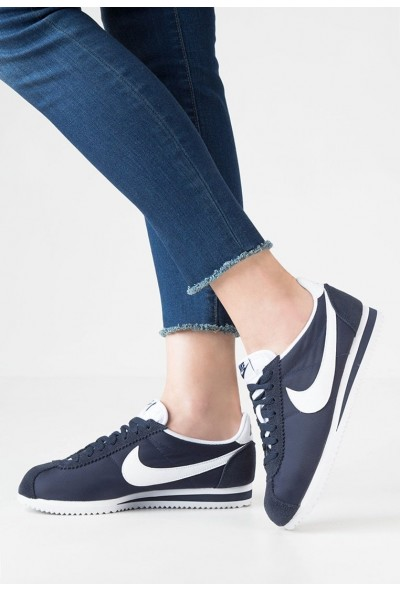 Nike CLASSIC CORTEZ - Baskets basses obsidian/white