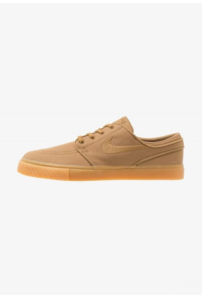 Nike ZOOM STEFAN JANOSKI - Baskets basses golden beige/gum yellow