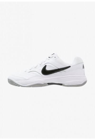 Black Friday 2019 - Nike COURT LITE - Baskets tout terrain white/black/medium grey