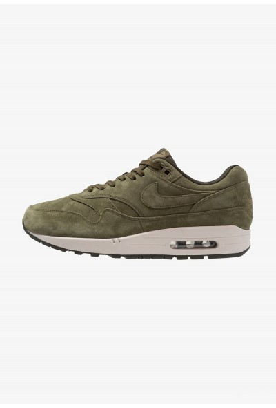 Nike AIR MAX 1 PREMIUM - Baskets basses olive/sequoia/light bone